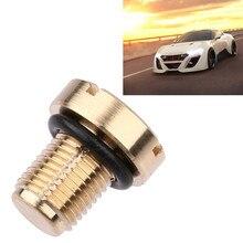 Хладагент расширительный бак Bleeder винт латунь для BMW E36 E39 E46 автомобильный масляный радиатор труба/бак для воды возвратная труба# Y1