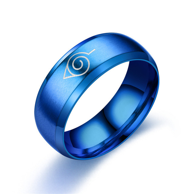 Naruto Various Style Alloy Ring