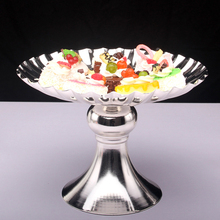 Silver cake stand Festival Dessert Tray Cake Stand Holder Wedding Party Birthday Decoration Display Cupcake