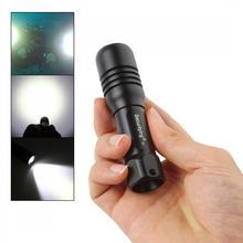 где купить SecurityIng LED Flashlight Scuba Diving Photography Video Lamp 150M XM-L2(U4) LED Underwater Torch with 360 Degrees Rotation дешево
