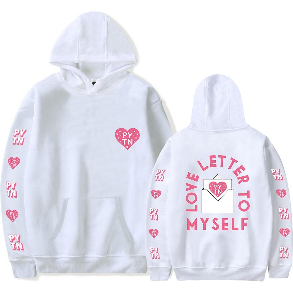Payton Moormeier White Hoodies Men Women Sweatshirts New Fashion Autumn Hip Hop Comfortable Hooded Boys Girls Casual Pullovers