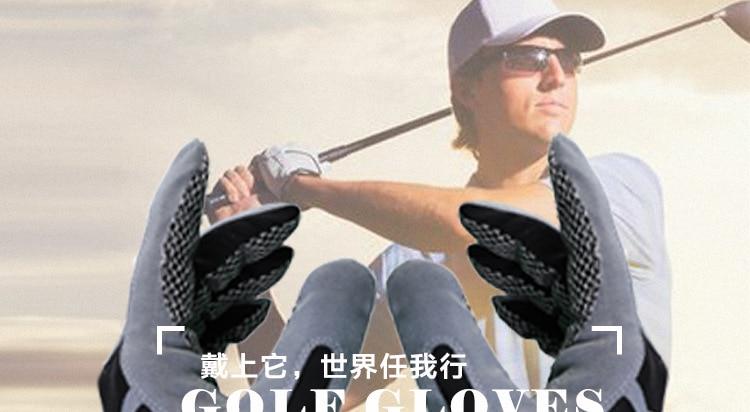 treinamento de esportes de fitness guanto da golfe