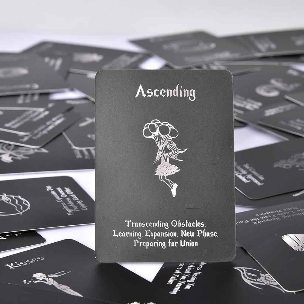 54 île temps bien-être amour Oracle cartes Tarot carte Divination jeu de société cartes