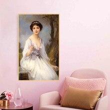 Lenoir-pintura al óleo sobre lienzo de