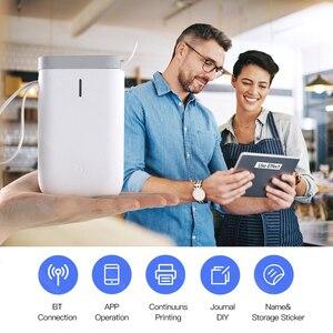Image 5 - Imprimante Portable sans fil D11 impression rapide détiquettes thermiques, bluetooth