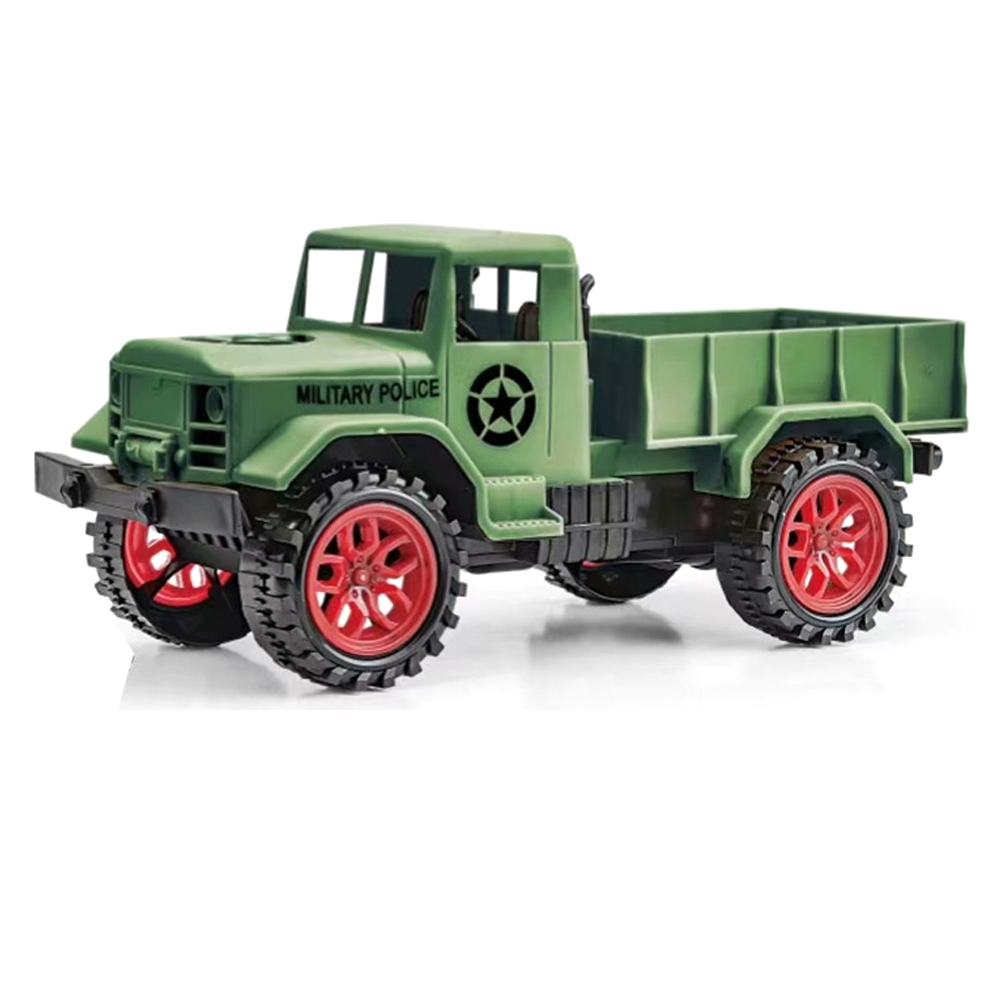 1/24 27Mhz 4WD Crawler Off Road RC Car RTR Vehicle Models Military Truck image