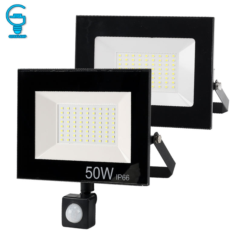 LED Flood Light 10W 20W 30W 50W 220V 240V Outdoor Floodlight Waterproof IP65 Reflector Spotlight Professional Lighting