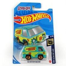 HOT WHEELS – voitures de la Machine mystère en métal moulé sous pression, édition du film scooby-doo, jouet pour enfants, 1/64