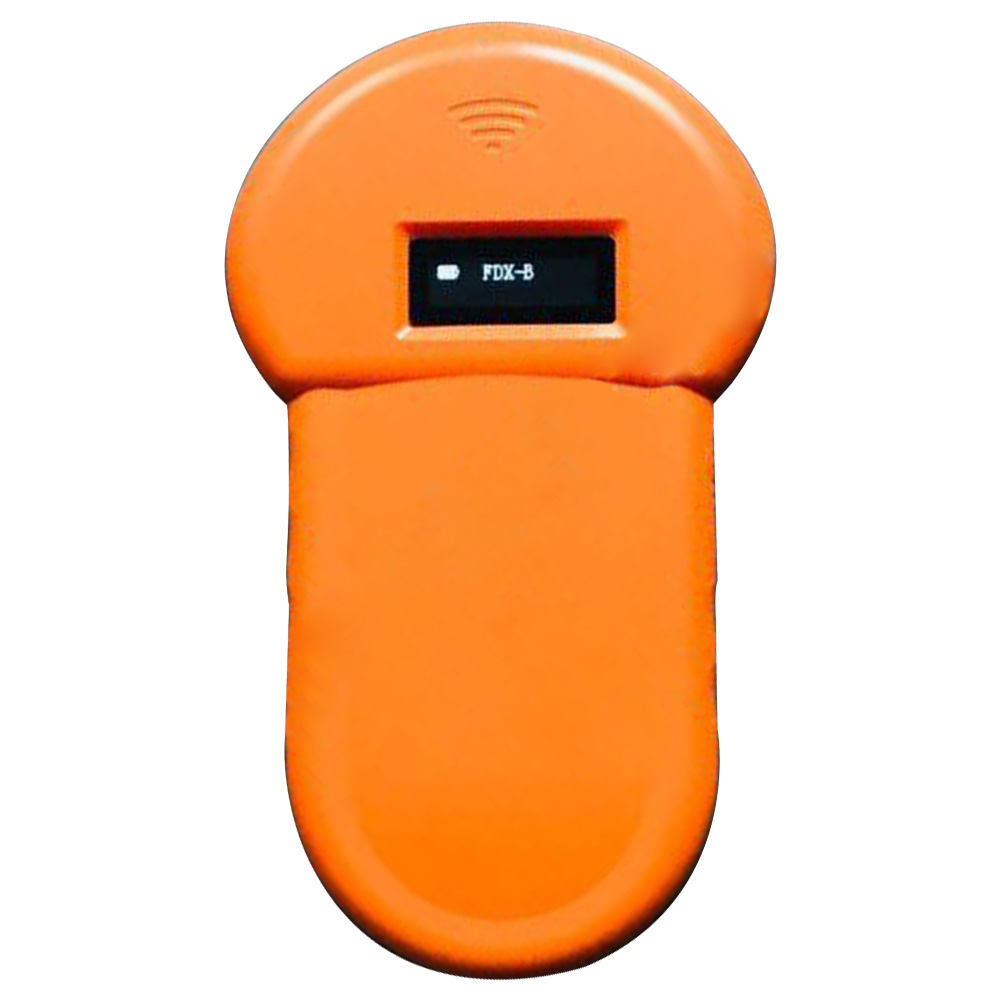 134.2Khz ISO FDX-B OLED Display Tracking Home USB Rechargeable Microchip Scanner Built-in Buzzer Stable Animal ID Reader ABS
