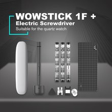 цена на WOWSTICK 1F+ Mini Electric Screwdriver Rechargeable Cordless Power Screw Driver Kit With LED Light Lithium Battery