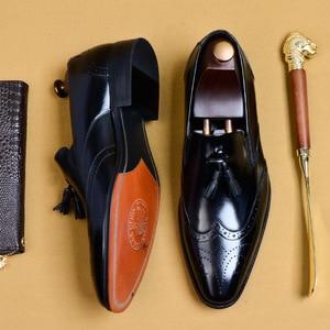 Мужские кожаные туфли из 100% натуральной кожи, деловые, вечерние, свадебные туфли, Дерби, брендовые, роскошные мужские туфли-оксфорды