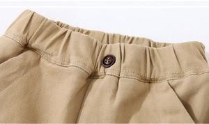 Image 3 - 2020 ילד מכנסיים ילדי סתיו חורף בגדי ילדים מוצקים מכנסיים עבור תינוק נערי מכנסיים חם פעוטות עבה צמר khaqi מוצק