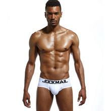 Brand men bikini underwear cotton classic basics sexy men briefs U Convex calzoncillos hombre cueca gay men Underpants Panties цена