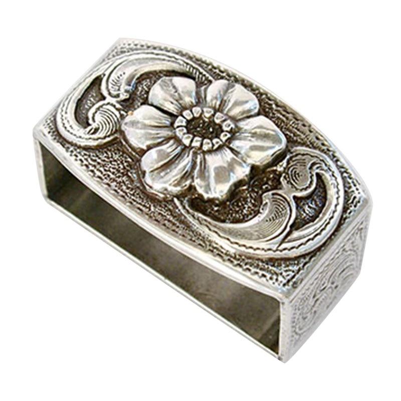 Western Retro Floral Engraved Antique Belt Buckle Set 3pcs Fits 38mm Belt Decor NFE99