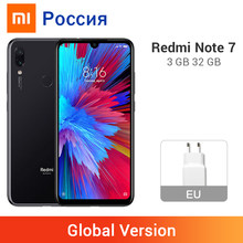 Global Version Xiaomi Redmi Note 7 3GB 32GB Smartphone Snapdragon 660 Octa Core 4000mAh 2340 x 1080 48MP Dual Camera Cellphone(China)