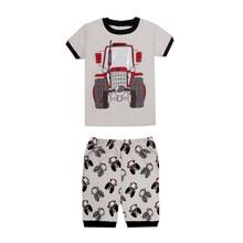 Kids Pajamas Short-Sleeve Femme Sleepwear Suit Night-Wear-Set Children's New Cartoon