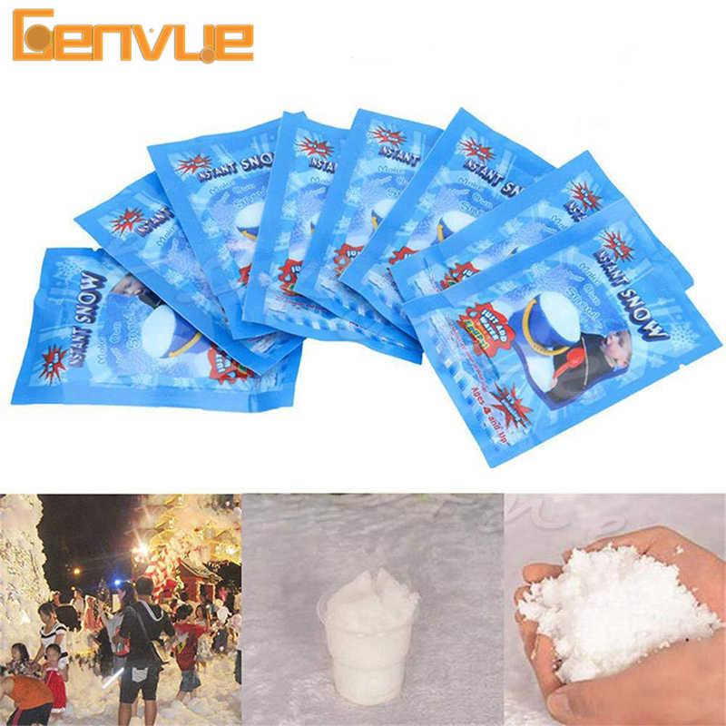 Encantos mágicos da neve para o lodo adição modelagem acessórios de argila slime macio polímero argila pó de neve todo o enchimento para lama brinquedos kit