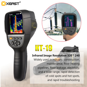 Image 2 - XEAST Professional Edition Handheld HT 19 Infrared Thermal Imager 320*240 HD detector 0.07 high sensitivity Free multimeter
