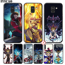 IYICAO Yu Gi Oh Anime Soft Phone Case for Samsung Galaxy A9 A8 A7 J6 A6 Plus 2018 A5 A3 2016 2017 Silicone Cover(China)