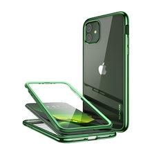 "Voor Iphone 11 Pro Case 5.8 ""(2019) supcase Ub Electro Metallic Electroplated + Tpu Full Body Cover Met Ingebouwde Screen Protector"