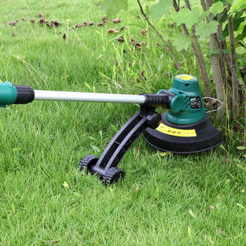 EAST 18V Cordless Grass Trimmer Reel Mower Lawn Mower Telescopic Handle Mower Rechargeable Battery Pruning Garden Tools ET1409