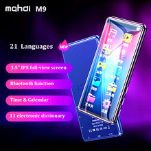 New Mahdi M9 Bluetooth MP4 Player With Speaker Touch Screen 3.5 inch HD HIFI 8GB Music MP3 MP4 Player Support Video TF Card(China)