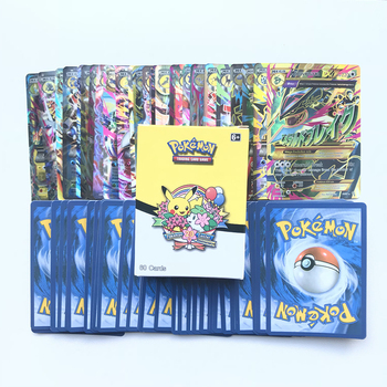 60pcs/Box Pokemon Cards Mega Monster Trading Card TCG: Sun & Moon  Evolutions Booster Box Collectible Card Toys For Children 2