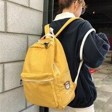 2020 High Quality Fashion Cotton Women Backpack Female Nylon Schoolbag Bag for Teenagers Girls Travel Book Bags Mochila