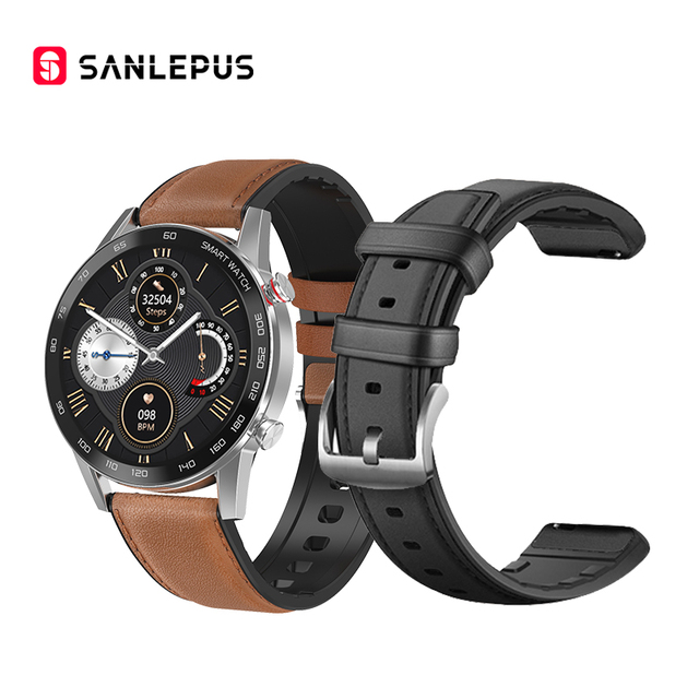With Leather Strap