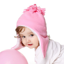 Winter Set Hat Gloves Children's Warm Autumn And Ear-Caps The-Latest