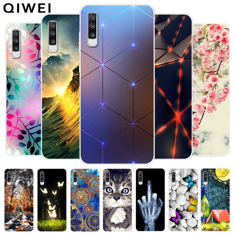 For Samsung A70 Case 2019 NEW Fashion Soft TPU Phone Back Cover For Samsung Galaxy A70 silicone Cases Coque Capa A 70 A705 A705F
