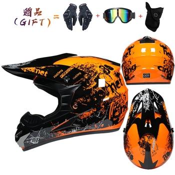 Motor Bike Cross Racing Motorcycle Helmet Safety Enduro Capacete Motorrad Cascos Downhill Bicycle Engine Cafe Racer ATV Helmets 17
