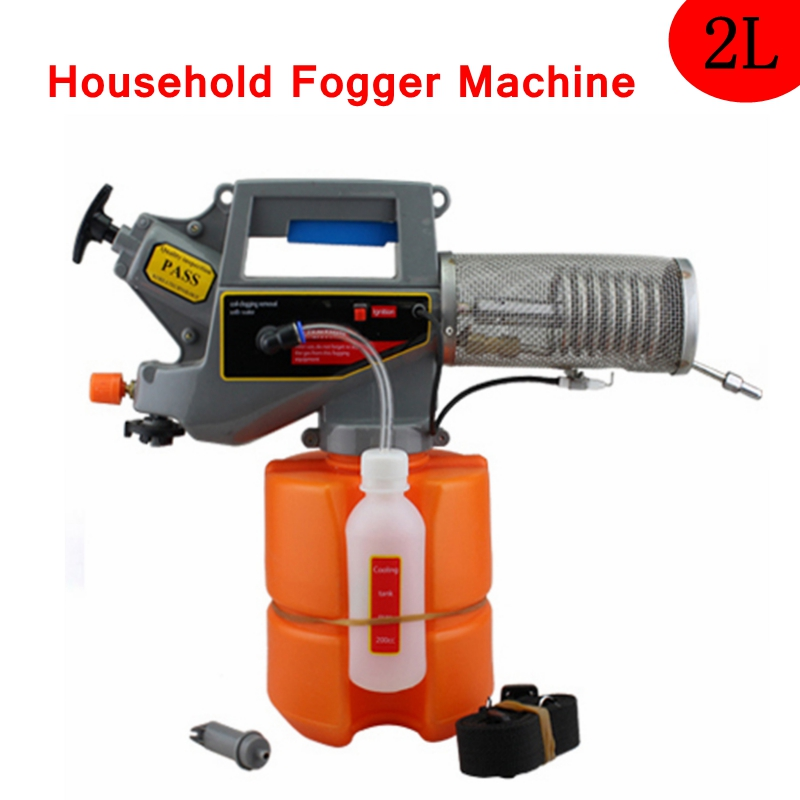 2L Handheld Thermal Fogger Machine Household Portable Mosquito Killer Sprayer Insecticide Disinfection Machine For Home Garden