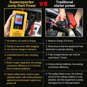Image 5 - Автомобильное пусковое устройство Autool EM335 без батареи с ультрааккумулятором, неограниченное использование, 12 В, Автомобильный аварийный аккумулятор, мгновенная зарядка
