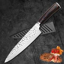 Knife Japanese Knife 8 Inch Fish Knife Stainless Steel Chef Knives Bread Knife Damask Knife Machetes Meat Knife Vegetable Knife недорого