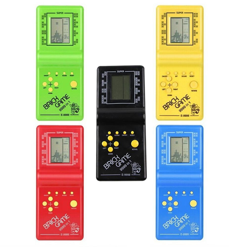 Classic Tetris Brick Games Handheld Mini Machine Tamagochi Toys Electronic Retro Classic Game  Handheld Game Machine