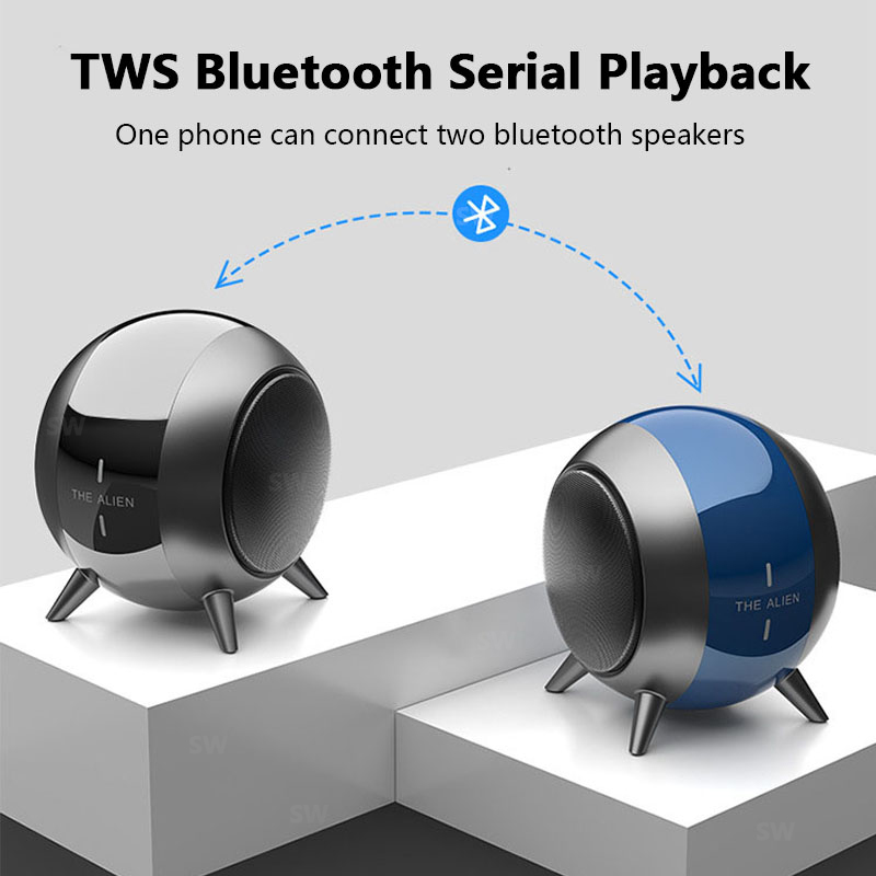 TWS Interconnect Bluetooth Speaker Sound Portable Mini Column Soundbar Boombox Music Center Super Bass Handsfree caixa de som