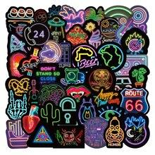 10/100/50 шт Неон Граффити стикер персональные герои мультфильмов, творческий мобильный телефон чемодан для скейтборда ноутбук стакана воды Ст...