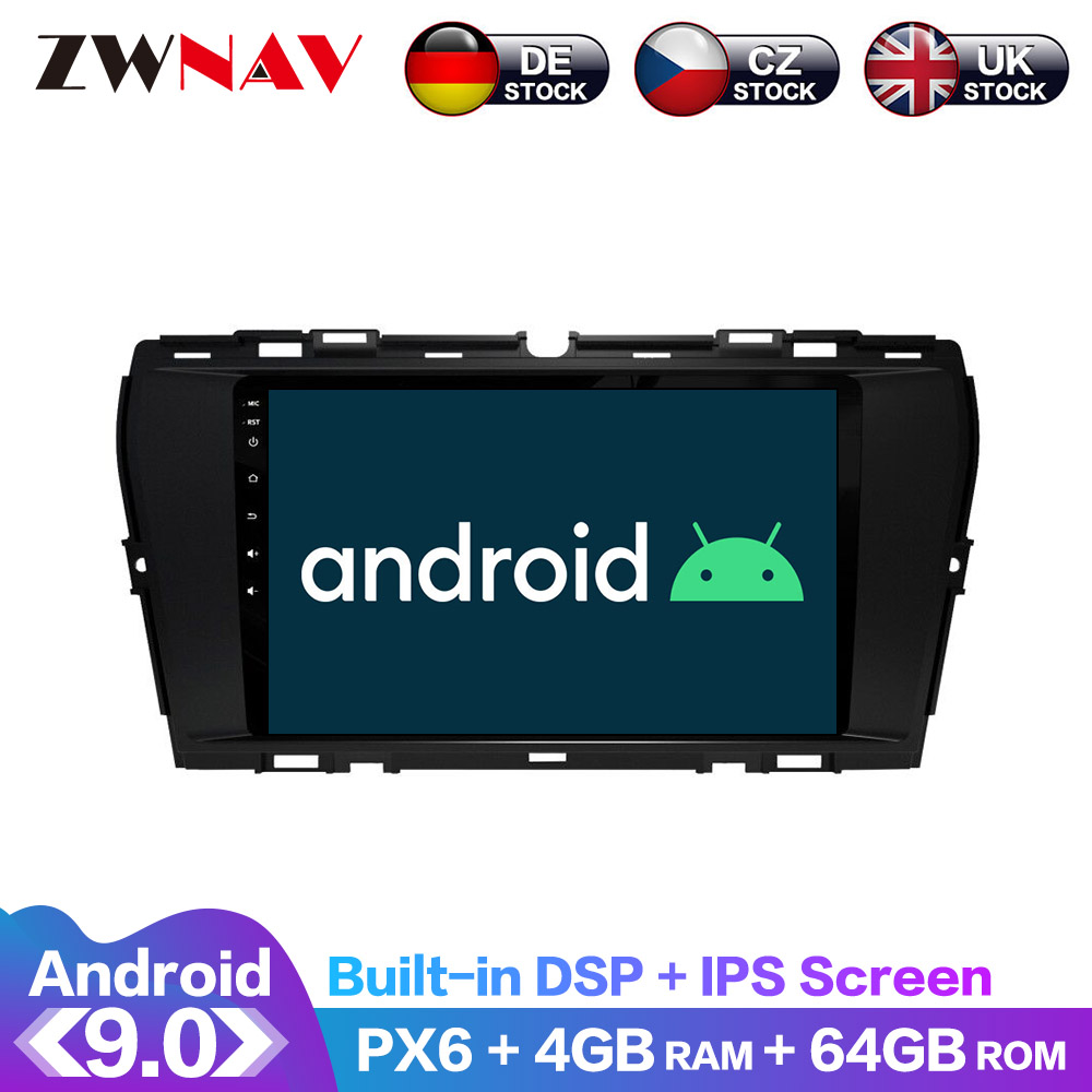 For SsangYong Korando 2020 Android IPS Screen PX6 DSP Car No DVD GPS Multimedia Player Head Unit Radio Navi Audio Stereo image