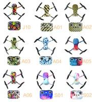 Waterproof PVC Stickers Drone Body Skin Protective Arm Remote Control for Mavic Mini 2 Sticker Protector Accessories