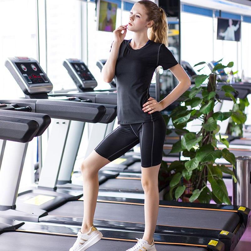 Women Gym Shorts Quick Drying Tights Yoga Fitness Running Pantalones Cortos Mujer Black Tennis Yoga Training Shorts Women in Trainning Exercise Shorts from Sports Entertainment