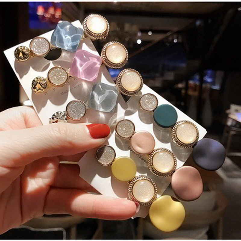 1Pcs New Fashion Hair Clips For Women Retro Hair Clip Girls Barrettes Sweet Hairpins Headwear Accessories