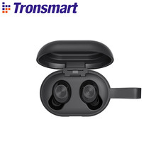 Tronsmart spunky bater tws bluetooth fone de ouvido aptx fones sem fio com qualcommchip, cvc 8.0, controle toque