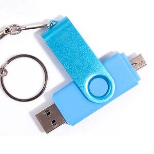 Image 1 - Biyetimi pen drive 64gb USB stick 32gb 16gb 8gb 4gb usb флэш накопители OTG usb sticks für telefon/pc флешка usb