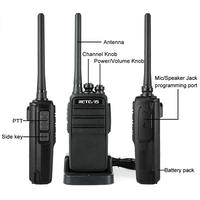מכשיר הקשר שני Retevis RT53 DMR דיגיטלי מכשיר הקשר 2W UHF DMR רדיו שני הדרך רדיו Comunicador משדר דיבורית הווקי טוקיז רדיו שינקין (5)