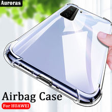 Auroras For Honor 30S Case Official Original Transparent Shockproof Clear Cover For HONOR 30S Airbag Case