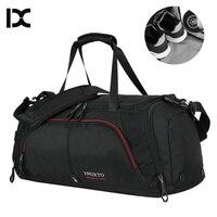 Bolsa de náilon para esportes  bolsa grande para academia  viagem  durável  sapatos para o ar livre  para homens  esportiva  academia xa416wa