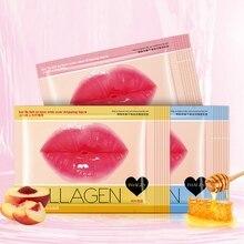 Crystal Collagen Lip Mask Moisturizing Nourishing Anti Aging Wrinkle Plumper Care Beauty Gel