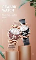 New Lovers Watch Net Red Fashion Trend Ins Pair Watch Quartz Student Waterproof Watches