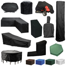 Customized Oxford Furniture Dustproof Cover For Rattan Table Cube Chair Sofa Waterproof Rain Garden Patio BBQ Protective Cover